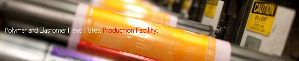 polymer and elastomer flexo plates production facility